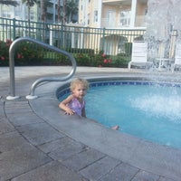 Photo taken at Kingstown Reef Poolside by Andrew A. on 10/18/2012
