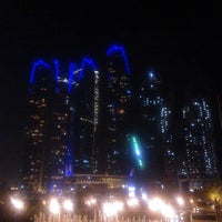 Photo taken at Jumeirah at Etihad Towers by Kirsi on 4/9/2013