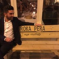 Photo taken at Roka Pera by Orçun Ö. on 3/3/2017