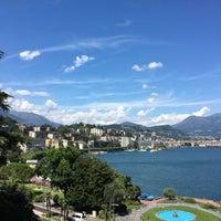 Photo taken at Grand Hotel Eden Lugano by Luk V. on 7/28/2016