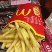 Снимок сделан в McDonald's пользователем Katya P. 1/31/2013