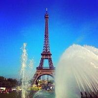 Photo prise au Jardins du Trocadéro par Antonio le9/16/2012