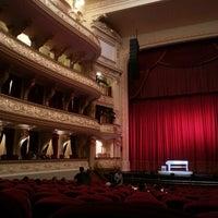 Photo taken at Teatro Municipal de Lima by Leonardo K. on 6/16/2013