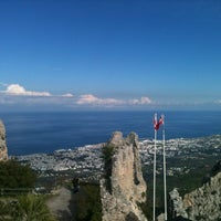 Photo taken at Saint Hilarion Castle by Cgl Z. on 12/9/2012