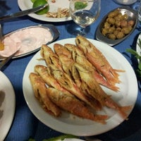 Photo taken at Zephyros Fish Tavern by Ildar M. on 10/5/2012