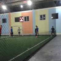 Photo taken at Futsal 1818 Ceria by Fajar H. on 10/11/2013