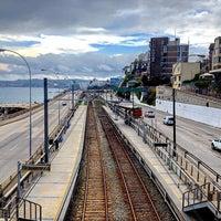 Photo taken at Metro Valparaiso - Estación Recreo by Camilo on 10/4/2015