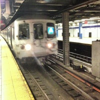 Photo taken at MTA Subway - A Train by Legend O. on 5/3/2013