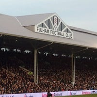 Photo taken at Craven Cottage by Andre M. on 11/3/2012