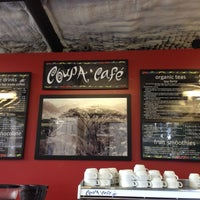 Photo taken at Coupa Café at Green Library by Andres S. on 10/6/2012