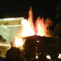 Photo taken at The Mirage Volcano by Michael D. on 9/25/2012