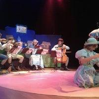 Photo taken at Teatro da Caixa by Stefanie S. on 10/17/2012