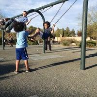 Photo taken at Western Trails Neighborhood Park by Kiki F. on 3/27/2013
