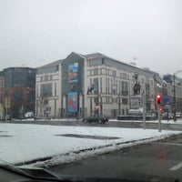 Photo taken at Ministère de la Fédération Wallonie-Bruxelles by Spinette J. on 1/15/2013