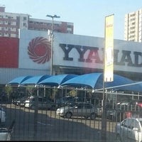 Photo taken at Yamada Plaza by Rayanne O. on 11/10/2012