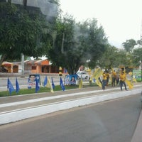 Photo taken at Avenida Arterial 18 by Rayanne O. on 10/5/2012