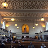Photo taken at New Haven Union Station (NHV) - Metro North/Amtrak/Shore Line East by Clayton on 7/2/2013