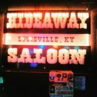 Photo taken at Hideaway Saloon by Katie D. on 4/5/2016