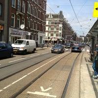 Photo taken at Tramhalte Van Woustraat by PJVDV on 5/25/2013