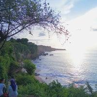 Photo taken at Tegal Wangi Beach by Ganang R. on 11/29/2016