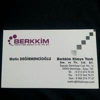 Photo taken at Berkkim Kimya by Noname N. on 10/1/2013