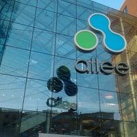 Photo taken at Allee Bevásárlóközpont by Balázs Miklós B. on 10/22/2012