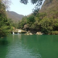 Photo taken at Cascadas de Micos by Dulce on 5/4/2013