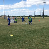 Photo taken at Houston Sportplex by Juan G. on 4/23/2017
