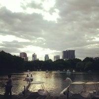 Photo taken at Lumphini Park by FilmPolaroid's h. on 7/22/2013