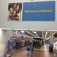 Photo taken at Walmart Supercenter by J. Manuel on 4/28/2013