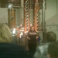 Photo taken at Great Lakes Distillery by Jed S. on 12/27/2012