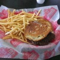 Photo taken at Freddy's Frozen Custard & Steakburgers by Wj K. on 2/7/2013