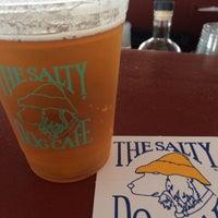 Photo taken at Salty Dog Cafe-Waterside Deck by John K. on 3/10/2017