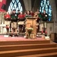 Photo taken at Sint-Laurentiuskerk by Robin P. on 12/24/2013