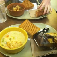Photo taken at Panera Bread by Jennifer Y. on 10/6/2012