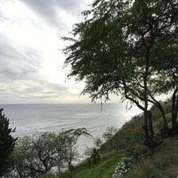 Photo taken at Diamond Head Scenic Point by Julia Z. on 12/31/2016