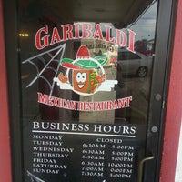 Photo taken at Garibaldi's Mexican Restaurant by TXSIZEBARBIE on 11/1/2012