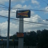 Photo taken at SONIC Drive In by TXSIZEBARBIE on 10/10/2012