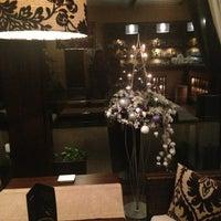 Снимок сделан в Moscow cafe-room пользователем Анастасия 12/27/2012