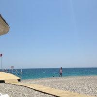 6/15/2013 tarihinde Volkan ⛵️🕶ziyaretçi tarafından Hotel Su Beach'de çekilen fotoğraf