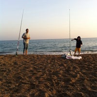 2/23/2014 tarihinde Fatma C.ziyaretçi tarafından Lara Plajı'de çekilen fotoğraf