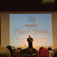 Photo taken at Great Eastern Hall@Level 6 by Khairul Anuar A. on 10/24/2015