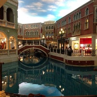 Photo taken at The Venetian Macao by Jeremy S. on 1/4/2013