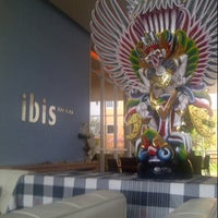 Photo taken at Ibis Hotels by Indra S. on 4/10/2013