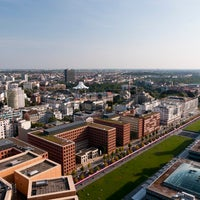 Photo taken at Kollhoff-Tower by Oh-Berlin.com on 11/28/2012
