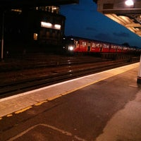 Photo taken at Queenstown Road Railway Station (QRB) by Ana Carolina S. on 4/11/2013