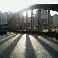 Photo taken at Viaduto Santa Tereza by Lucas L. on 2/26/2013