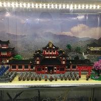 Снимок сделан в GameBrick. музей-выставка моделей из кубиков LEGO пользователем Olesya P. 12/18/2016