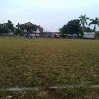 Photo taken at Lapangan sepak bola rengas by Suryo Agung W. on 5/9/2013