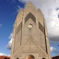 Photo taken at Grundtvigs Kirke by Pablo on 8/27/2017